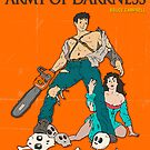 ARMY OF DARKNESS MOVIE POSTER by JazzberryBlue