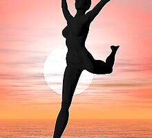 Dawn dancer by Norma Cornes