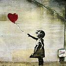 Banksy&#x27;s Girl with a Red Balloon by Ludwig Wagner