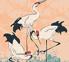 The Cranes by Budi Satria Kwan
