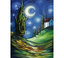 The Dreamers Night Sky Photographic Print
