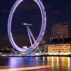 The Eye at Night by Mark Cass