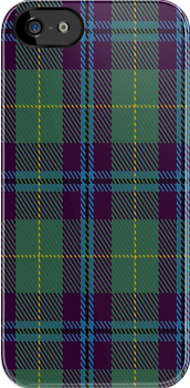 00874 Wellington (Wilson 122) Fashion Tartan Fabric Print Iphone Case by Detnecs2013
