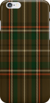 00887 Williams Family Tartan Fabric Print Iphone Case by Detnecs2013