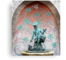 Cinderella Fountain Disneyland Paris Canvas Print