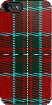 00897 Wilson's No. 005 Fashion Tartan Fabric Print Iphone Case by Detnecs2013