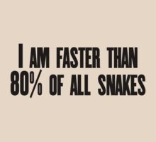 I am faster than 80% of all snakes by SlubberBub