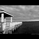 Smith Point County Park Dock - Fire Island, New York by © Sophie W. Smith