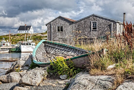 Peggy's Cove by PhotosByHealy