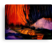 Grateful Colours... Canvas Print