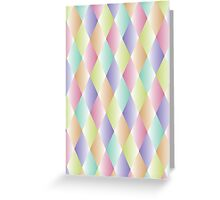 Diamond Pastel iPhone Case Greeting Card