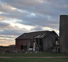 Barn- Northwest Indiana by Jessica Snyder