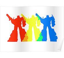 Optimus Prime Colors Poster