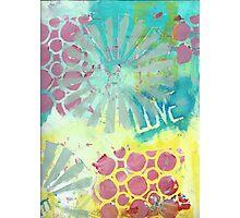 Love Collage Photographic Print