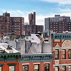 Lower East Side Roofscape - New York City by Joel Raskin