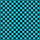 Checkerboard - Light Blue by chrishull