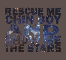 Rescue me chin boy and show me the stars Kids Clothes