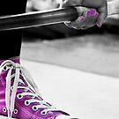 Purple Shoe by MissFrosty