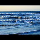 Atlantic Ocean Morning Waves - Smith Point, New York  by © Sophie W. Smith