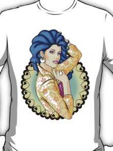 80s Blue-Haired Glamour Queen T-Shirt