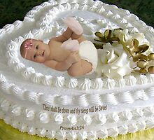 ㋡ SWEET BABY CAKE WITH BIBLICAL SCRIPTURE ㋡ by ╰⊰✿ℒᵒᶹᵉ Bonita✿⊱╮ Lalonde✿⊱╮