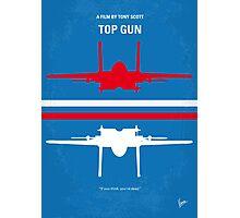 No128 My TOP GUN minimal movie poster Photographic Print