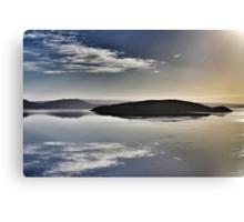 Icelandic lake Canvas Print