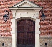 Building front door. by FER737NG