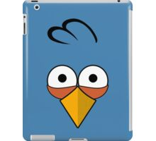 Blue and Angry  iPad Case/Skin