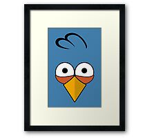 Blue and Angry  Framed Print