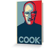 Heisenberg Cook Greeting Card