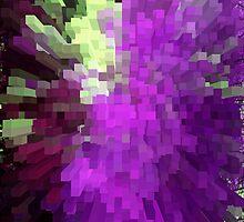 Purple columns of wow by Robert Gipson