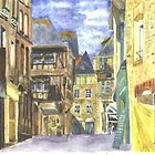 Dinan Medieval Old Town Brittany by CreativMichelle