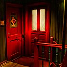 Behind the Red Door by © Kira Bodensted