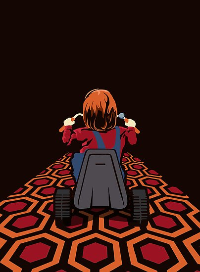The Shining  Danny Torrance Go Kart by Creative Spectator