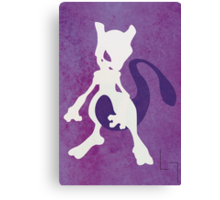 Mewtwo Canvas Print