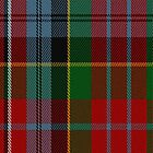 00903 Wilson's No. 43 Fashion Tartan Fabric Print Iphone Case by Detnecs2013