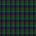 00909 Wilson's No. 55 Fashion Tartan Fabric Print Iphone Case by Detnecs2013