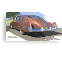 1949 Cadillac Fastback Metal Print