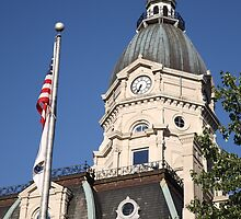 Terre Haute, Indiana - Courthouse by Frank Romeo