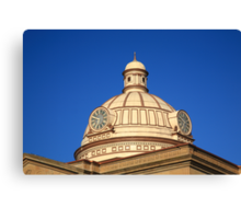 Lincoln, Illinois - Courthouse Dome Canvas Print