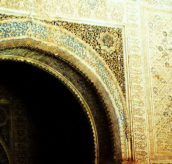 A touch of Blue, Alhambra by CourtneyAnne82