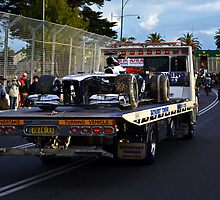 Towed - Williams by Tom Blanche