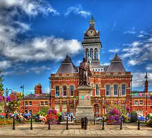 Grantham town by glphotos