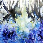 Bluebell-wood by Bev  Wells