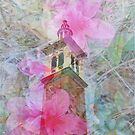 Bell Tower Wrapped in Spring by designingjudy