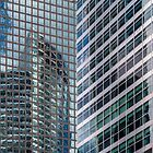 World Financial Center Reflections - NYC by Joel Raskin