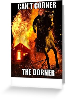 Can't corner The Dorner! by shadeprint