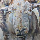 Sheep with horns by Emma Cownie