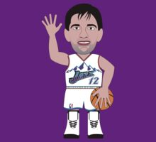 NBAToon of John Stockton, player of Utah Jazz by D4RK0